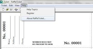 Free Raffle Ticket Maker Templates Instathreds Co