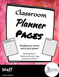 Scope Seating Chart Classroom Planner Pages
