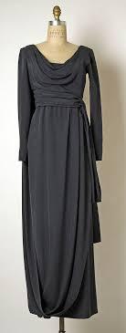 Evening dress <b>Yves Saint Laurent</b>, Paris (French, founded 1961 ...