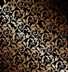 Poster Foto Beautiful Gold Wallpaper Koop Op Europostersnl