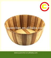 salad bowl with stand natural extra large bamboo salad bowl wood wooden with stand salad bowl