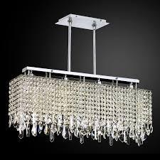 rectangular dining room light innovations 592 by glow lighting