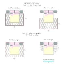 rug under bed rules rug r bed rules area size guide king bedroom placement photo 3 rug under bed