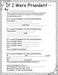 presidents day activities activities learning and social studies if i were president