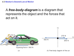 11 4 3 newton s second law of motion a free diagram is a diagram that represents the object and the forces that act on it