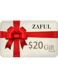 [16% OFF] 2021 ZAFUL EGift Card In AS THE PICTURE   ZAFUL