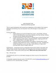 Cleaning Job Description Resume Jd Templates Cleaner Job Description Template Cleaning Resumes 24