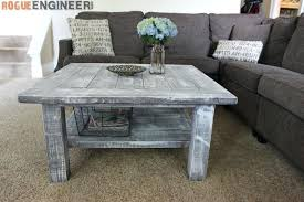 square coffee table square plank coffee table plans rogue engineer inexpensive square coffee tables
