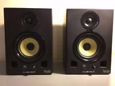 speakers dj. authentic - hercules dj monitor 5 speaker set used with original packaging speakers dj