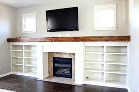 fireplace surround bookcase plans surrounds bookcases gas with custom bookshelves reclaimed wood mantle window trim mounting