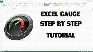 Free Excel Gauge Chart Downloads How Create Kpi Dashboard In