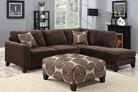 malibu brown sectional u4606 1200