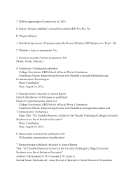 College Report Title Page Phd Annual Report First Page Detailed Table Of Contents