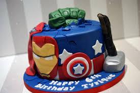 Avengers Birthday Cake Bakealous