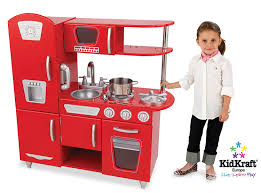 Kid Craft Retro Kitchen Amazoncom Kidkraft Red Vintage Kitchen Toys Games