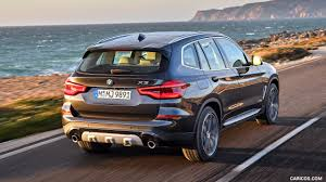 2018 BMW X3 XDrive30d (Color: Sophisto Grey Brilliant Effect Metallic) -  Rear Three D