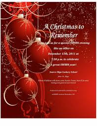 003 Template Ideas Free Christmas Party Invitations