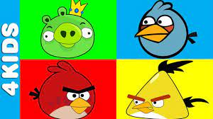 Angry Birds | Learning Colors | Learning colors, Angry birds, Birds