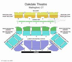 Molson Amphitheatre Detailed Seating Chart Oakdale Seating View Proctor Theater Seating Chart Chevrolet