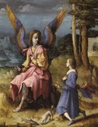 49 best st raphael the archangel images on archangel raphael angel painting