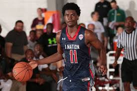 former maryland star basketball target josh jackson commits to kelly kline under armour