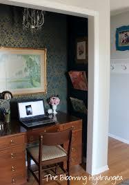 turn closet into office.  Closet Turning Front Entry Closet Into An Office Cloffice Closet Craft Rooms  Home On Turn Closet Into Office