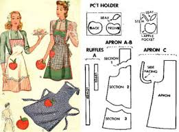 Vintage Apron Patterns Inspiration Free Access To The Vintage Pattern Library FashionIncubator