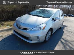 2012 Used Toyota Prius v 5dr Wagon Five at Toyota of Fayetteville ...