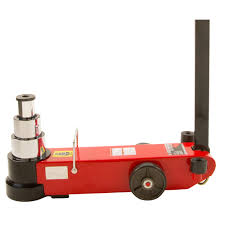 AIR / HYDRAULIC AXLE JACKS - 60 40 20 TON 3 STAGE JACK