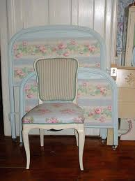 shabby chic office furniture. shabby chic office furniture uk vintage painted french chair pink roses fabric ticking blue and cream