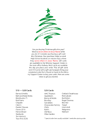 scrip intersections christmas scrip flier front