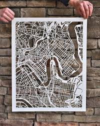feature each stream city by map on laser cut wall art australia with feature each stream city by map dallas headquarters wall art