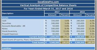 excel spreadsheet download download balance sheet vertical analysis excel template