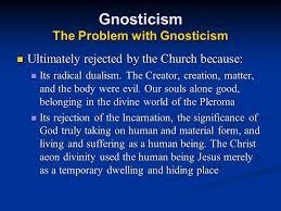 Zoroastrianism Vs Christianity Chart Gnosticism From Zoroastrianism To Christianity