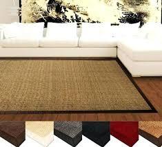 pottery barn sisal rug natural fiber border luxury linen