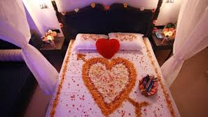 Wedding Bedroom Decorations Bed Wedding Night These Are The Best Romantic Room Ideas Going