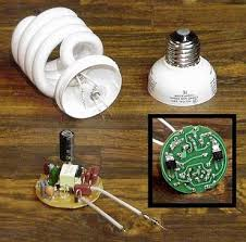 how to use burnt compact florescent light circuit module 6 steps show all items disassemble the cfl