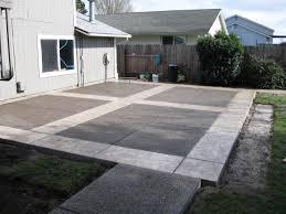 modern concrete patio designs. Concrete Patio Designs : Design Ideas Modern Cool To D