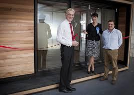 smart garden office. Mark Pendlington, Chairman Of New Anglia LEP, Jo Churchill, Conservative Candidate For The Smart Garden Office O