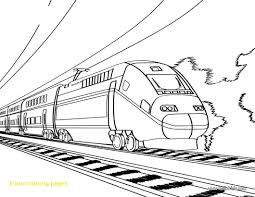 Train Coloring Pages L