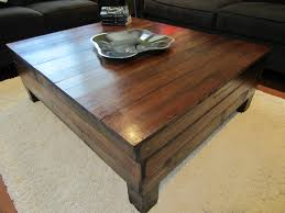 Floor Tables Coffee Table Made From 100 Year Old Hardwood Floor For The Home