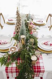 office christmas party decorations. Corporate-christmas-party-ideas-place-setting-tablescape-pine- Office Christmas Party Decorations
