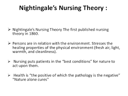 florence nightingale theory mn nightingale theory presentation