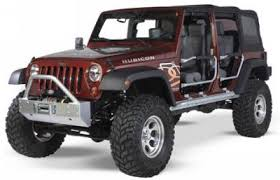 2007 2011 jeep wrangler 4 door rock sliders