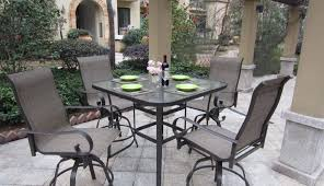 Balcony patio furniture Foldable Counter Top Cover Chairs Covers Round Table Height Bistro Bar Dining Kitchen High Outdoor Office Garden Rmg Vacation Homes Counter Top Cover Chairs Covers Round Table Height Bistro Bar Dining