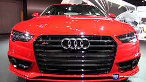 audi a7 2014 red. 2016 audi s7 v8t exterior and interior walkaround new york auto show youtube a7 2014 red