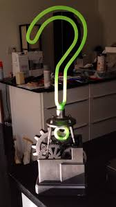 Gotham city is just beginning to emerge from another chaotic month. 3d Printed Arkham City Riddler Trophy From Geek Fab Lab Batman Arkham Asylum Arkham City Riddler Riddler
