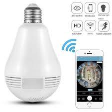 Best Light Bulb Camera Buy 1080p Wireless Ip Panoramic Camera Bulb Light Night