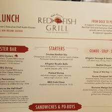red fish grill happy hour