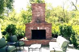 brick fireplace designs cool outdoor design ideas for fireplaces photos